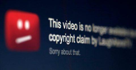 Авторские права на YouTube