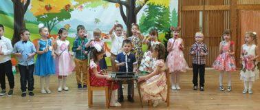 Дети поют песню кап кап