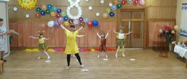 Танец пчелок в детском саду