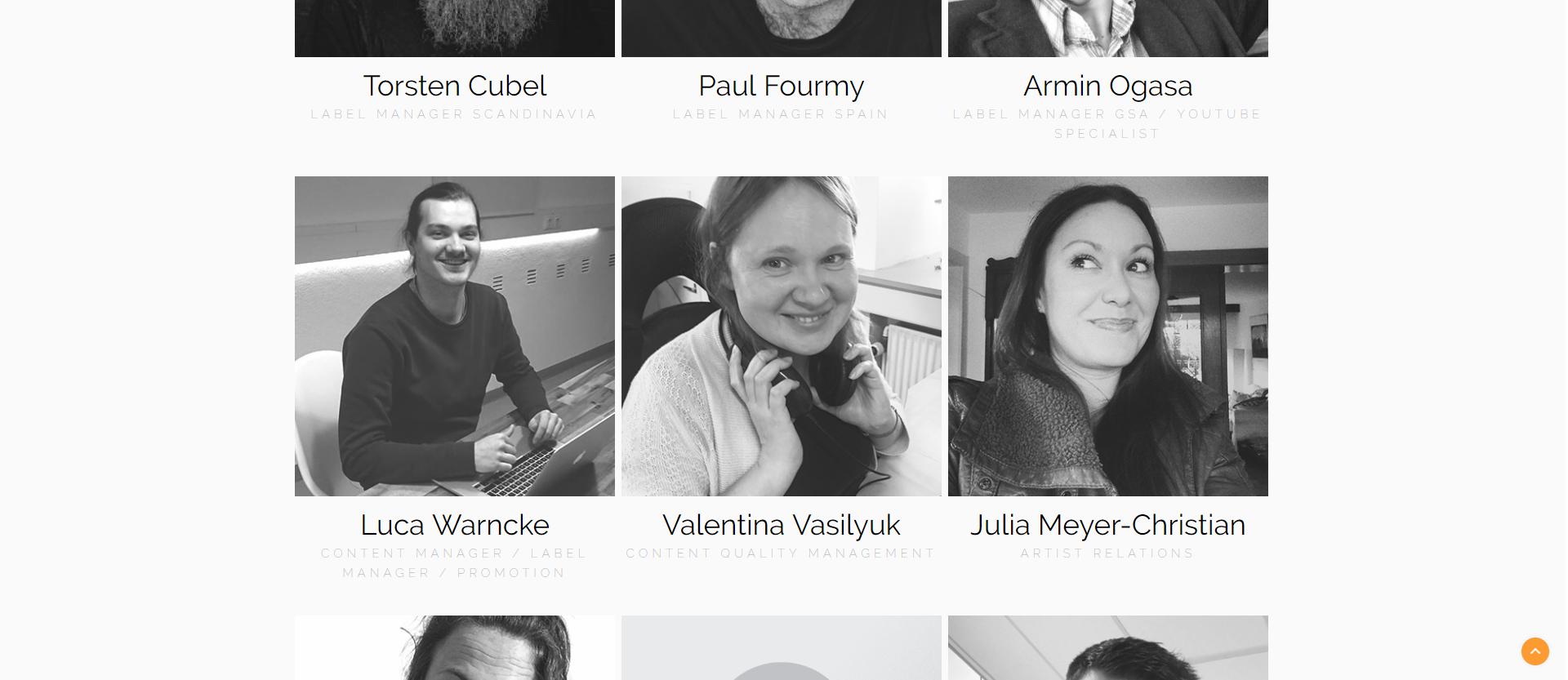 Валентина Василюк на сайте Danmark Music Group